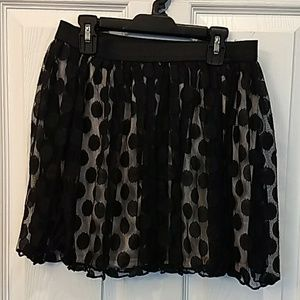 Joe Benbasset Medium Black Skirt